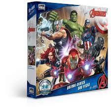 Os Vingadores - Quebra-cabeça 500 peças