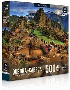 Toyster Quebra-Cabeça Maravilhas do Mundo Moderno: Machu Picchu, 500 Peças