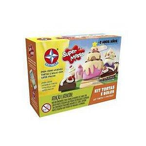 Massa Tortas E Bolos Brinquedos Estrela Multicor