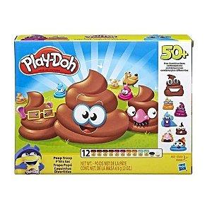 Conjunto Massinha Play-Doh Caquinhas Divertidas Hasbro