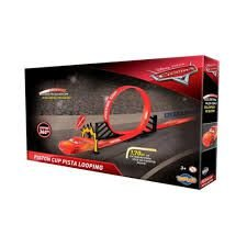 Pista Looping 360 Piston Cup McQueen Carros Disney Toyng
