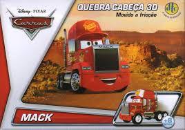 Quebra-Cabeça 3D Carros Disney - McQueen