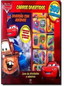 CARROS DIVERTIDOS 200 ADESIVOS