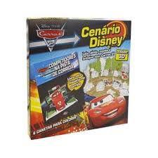 Carros 2 - Coleção Disney Cenários