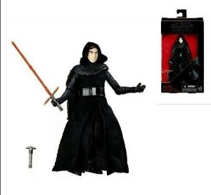 Boneco Action Figure Kylo Ren Star Wars Black Series Hasbro