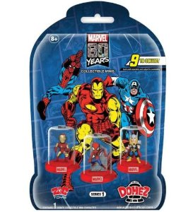 Mini Figura Surpresa - 5 Cm - Domez - Disney - Marvel - Avengers - Sunny