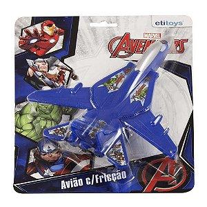 Etitoys Avião De Fricção Avengers