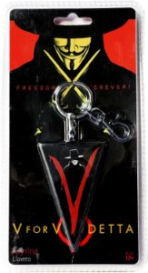 Chaveiro V For Vendetta - V De Vingança - SD Toys