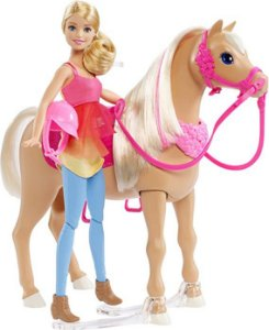 Barbie Familia Cavalo Dançarino Mattel DMC30