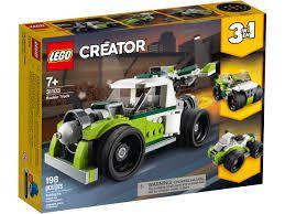 LEGO Conjunto de Construção  Creator 3 em 1 Caminhão - Foguete 31103 (198 Peças)