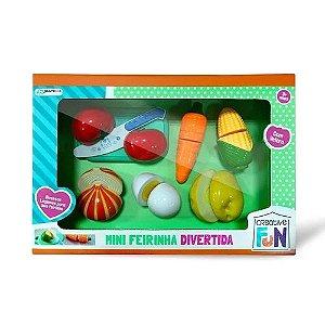 Legumes de Brinquedo Com Velcro Para Cortar Multikids Br1108