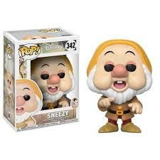 FUNKO Pop Disney Snow White Sneezy Funko 342