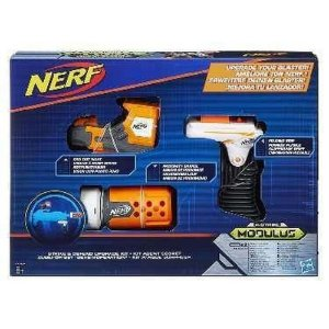 Nerf Acessório  Modulus Stealth Hasbro Branco/Laranja/Cinza