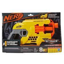 Nerf Lança Dardos Alphastrike Hammerstorm - E8676 - Hasbro