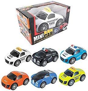 Carrinho À Fricção Mini Car- Pais & Filhos