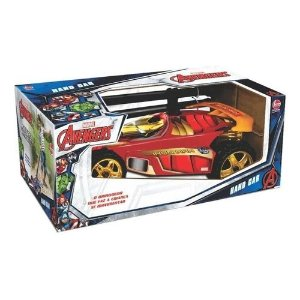 Hand Car Iron Man, Lider Brinquedos, Vermelho
