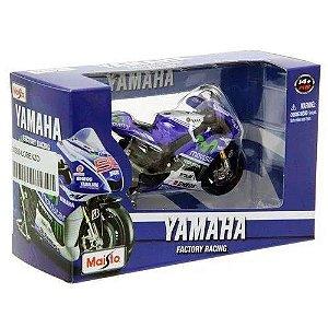 2014 Yamaha Movistar Moto Gp Lorenzo 1/10 Maisto Azul
