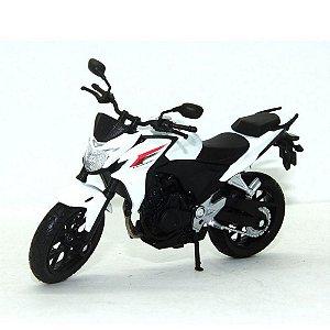 Miniatura Moto Honda Cb500F 1:10 Welly