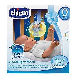 Luminária Musical Boa Noite Lua Chicco Azul