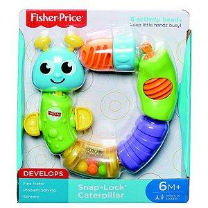 Centopeia de Atividades Fisher Price, Mattel, Amarelo