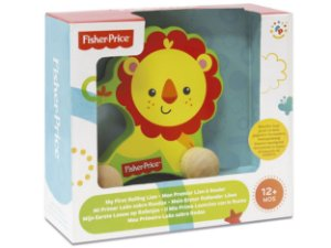 Leão Sobre Rodas - Fisher Price