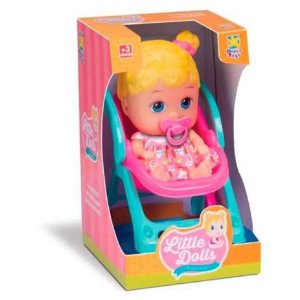 Boneca Little Dolls Passeio 8027 Divertoys