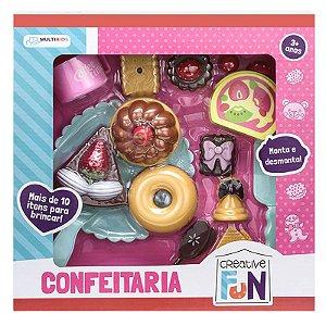 Creative Fun Confeitaria Indicado para +3 Anos Colorido Multikids - BR602