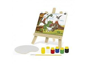 Kit De Pintura – Dinos Junges Multicor