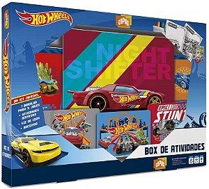 Box de Atividades Hot Wheels