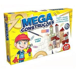Mega Construções em Madeira (MDF) - 150 peças