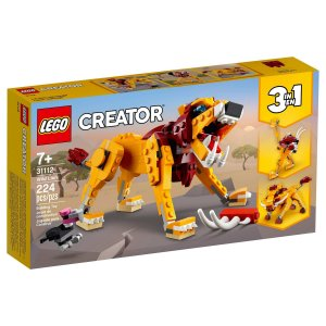LEGO Creator - Leão Selvagem - 31112