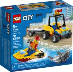 LEGO City - Off Road de Resgate na Praia - 60286