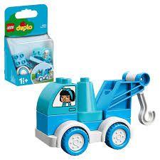 LEGO DUPLO Brinquedo de Construção  Meu Primeiro Caminhão de Reboque 10918 (6 Peças)