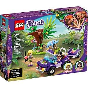 Lego FRIENDS O Resgate na Selva do Elefante Bebé 41421