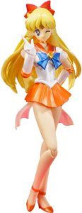 S H Figuarts Sailor Venus Sailor Moon Bandai Tamashii