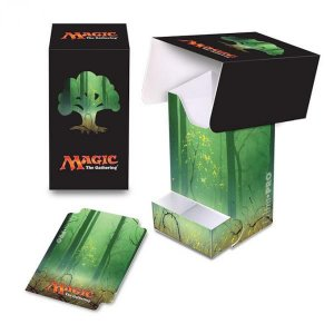 Ultra Pro: Full View Deck Box with Tray: Magic Mana 5-Forest