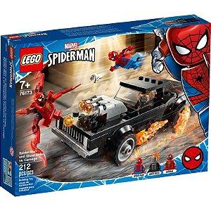 LEGO Marvel - Homem Aranha e Ghost Rider vs. Carnage - 76173