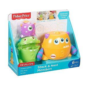 Monstrinhos de Empilhar Fisher Price, Mattel