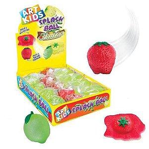 Splash Ball Bolas De Frutas Grudenta Sortida Acrilex