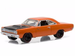 Plymouth Road Runner 1/2 1969 Gl Muscle S 15 1:64 Greenlight