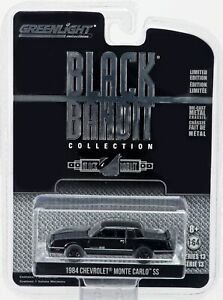 Greenlight 1984 Chevrolet Monte Carlo Ss Black Bandit Série 13