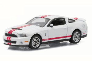 Ford Shelby GT500 2012 Gl Muscle Séries 15 Greenlight 1:64 Branco