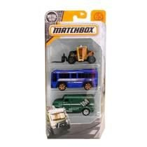Pack Matchbox com 3 Carrinhos 1:64 Dyw96