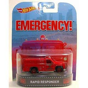 """Rapid Responder """"Emergency"""" - 1:64 - Hot Wheels"""