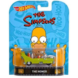 Hot Wheels - The Homer - The Simpsons - Retrô Entreterimento - DJF41