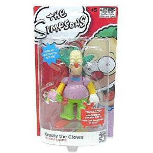Boneco Palhaço Krusty Simpsons 15cm com Som - Multikids