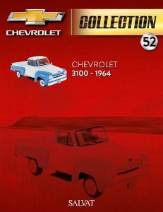 Coleção Chevrolet Collection Ed 52 3100 Picape 1964
