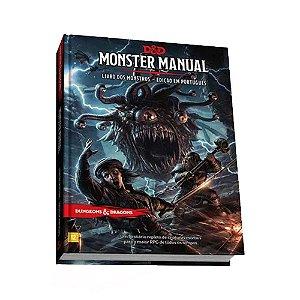 Dungeons & Dragons Monster Manual Livro dos Monstros Livro de RPG Galápagos DND002 - Galapagos