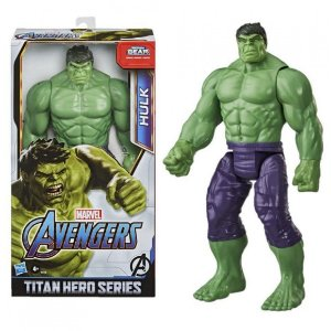 Figura Articulada - 30 Cm - Titan Heroes - Disney - Marvel - Avengers - Hulk - Blast Gear - Hasbro