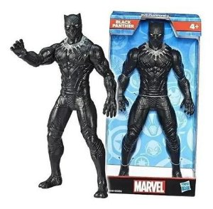 Figura Articulada - 24Cm - Disney - Marvel - Avengers - Pantera Negra - Hasbro